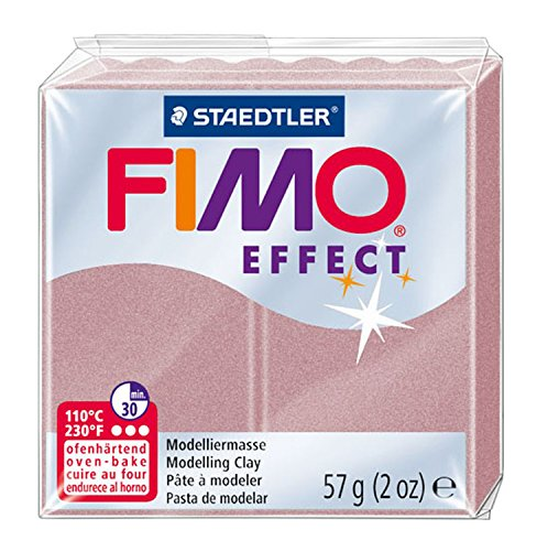 STAEDTLER Fimo Effect | roségold perlglanz