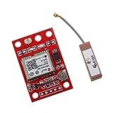 MagiDeal GYNEO6MV2 GPS Modul NEO-6M GY-NEO6MV2 Brett mit Antenne Für Arduino