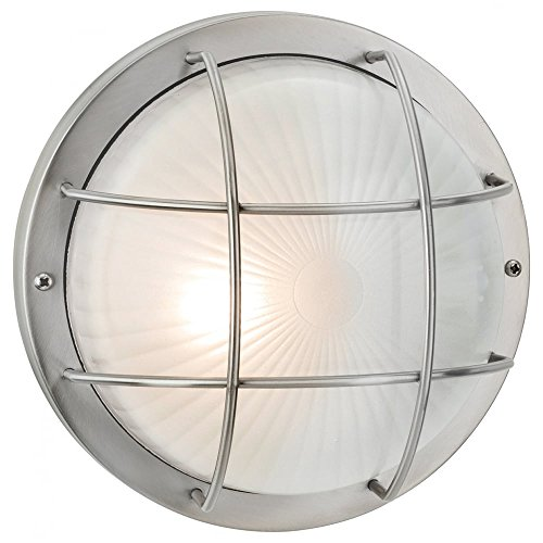 firstlight-3425st-60w-court-wall-flush-fitting-stainless-steel-with-frosted-glass