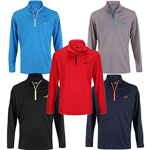 Woodworm Golf Mens 1/4 Zip Pullover / Sweater / Jumper