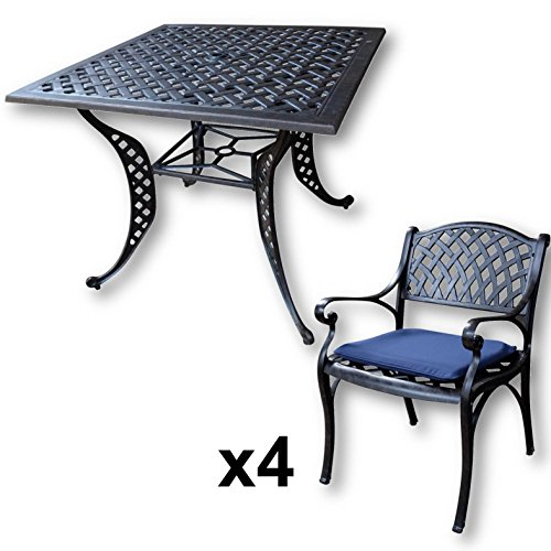 Salons jardin Table carrée