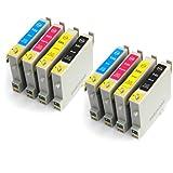 Epson Stylus DX3800 x8 Compatible Printer Ink Cartridges
