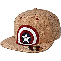 Gorra corcho Capitán América Marvel Escudo