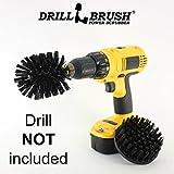 Drillbrush Nouveau changement rapide de l'arbre Ultrastiff Heavy Duty Nettoyage...