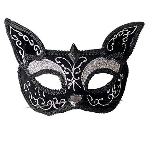 xy Niedlich Funkeln Venezianischen Maskerade Maske Halloween Party Maske (Machen Sie Ein Catwoman-kostüm)