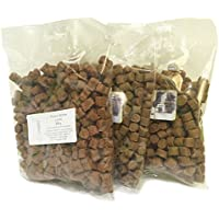 Hitzegrad 100% Fleisch Softies Glutenfreies Trainingsleckerli für Hunde 4er Pack (4x 200g) 200g Kaninchen, 200g Strauß, 200g Lachs, 200g Gans