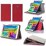 Samsung Galaxy Tab S 8.44G/LTE–Funda protección ultimkaz piel estilo rosa–Etui–Carcasa Tablet táctil Galaxy Tab S tablet 8,4pulgadas Rosa–Accesorios Tirador Cover xeptio Case