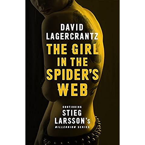 The Girl in the Spider's Web (Millennium series Book 4) - Spider Tattoo