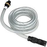 Jago Ansaugschlauch Wasserschlauch für Pump- und Bewässerungstechnik ca. 4m lang