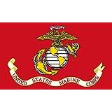 Drapeau United States Marine Corps   Image taken from   drapeau paysage   0.06qm   20x30cm pour Diplomat-Flags Drapeau de Voiture