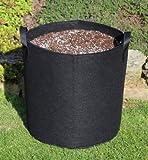 Unbekannt 20 Liter – ø30 x 30cm Pflanzsack mit Henkeln Pflanztasche Töpf