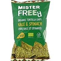 Mister Free d Tortilla chips chou kale et epinards Le paquet de 150g - Livraison Gratuite pour les commandes en...