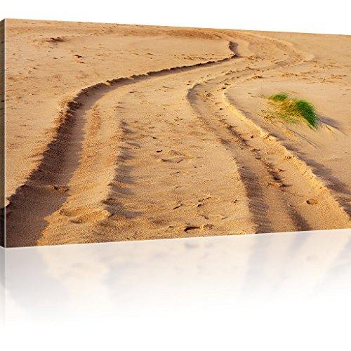 Sand Weg Wandbild Natur Bild auf Leinwand Landschaft Kunstdruck