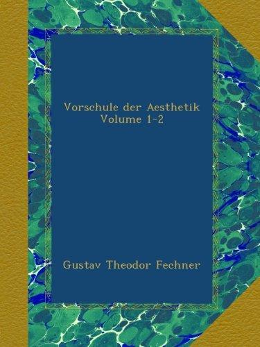 Vorschule der Aesthetik Volume 1-2
