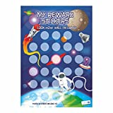 A4 Space Reward Chart with Stickers for Teachers, Parents & Schools