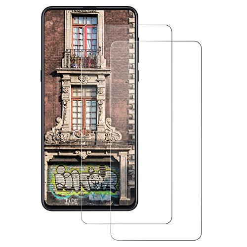 DOSNTO 2 Piezas Protector de Pantalla Xiaomi MI Mix 3, [Anti-Huella] Cristal Vidrio Templado Premium, [3D-Touch/Dureza 9H] [Anti-Arañazos] [Sin Burbujas] [Anti-Huella] Compatible con Xiaomi MI Mix 3