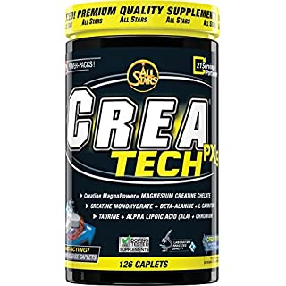 All Stars Crea-Tech PX9 High Performance Creatine Caplets Pack of 126 by ALL STARS