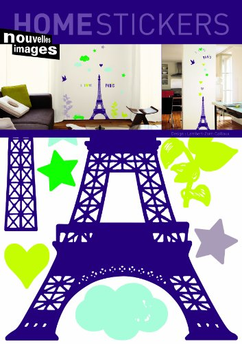 Home Stickers i love Paris Decorative Wall Stickers by Home Stickers