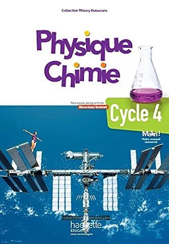 Livre Physique Chimie - Physique-Chimie cycle 4 / 5e, 4e, 3e