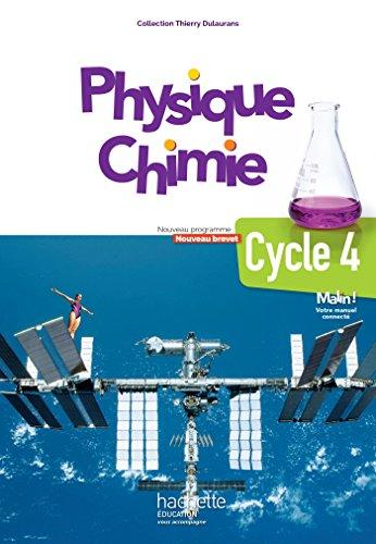 Physique-Chimie cycle 4 / 5e, 4e, 3e - Livre lve - d. 2017