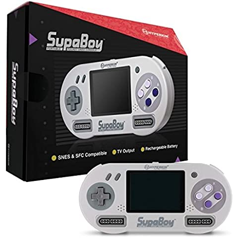 Hyperkin - Consola SNES Supaboy Portátil