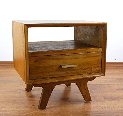 Java Retro Kommode aus Teakholz | Vintage Schubladenschrank aus Massivholz | Garderobenschrank der...