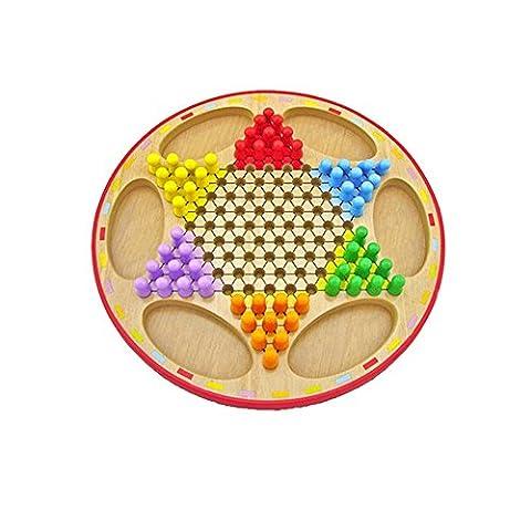 Delmkin Checkers Spiele Chinese Checkers Brettspiele / Strategiespiel - Familienspiel