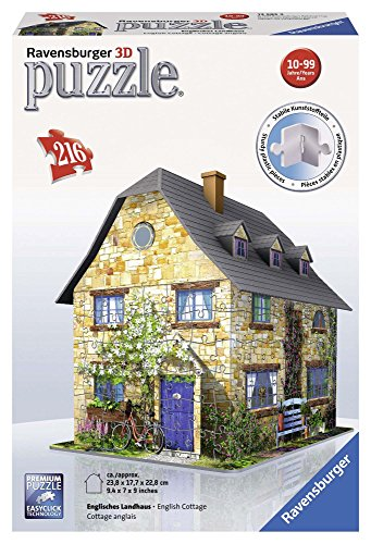 Ravensburger Country Cottage, 216pc 3D Jigsaw Puzzle�