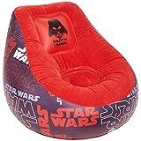 Star Wars 289SWS - Silla hinchable, color rojo y negro