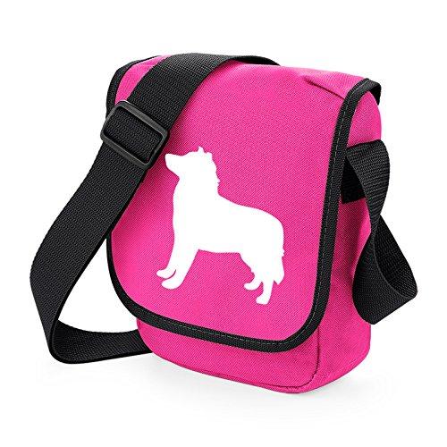Unisex Pixie Dog Bag Umhängetaschen Erwachsene White Pink Bag Ax5w1qXdx