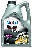 Best Motor Oils - Mobil 1 2000 X1 10W-40 Engine Oil, 5L Review