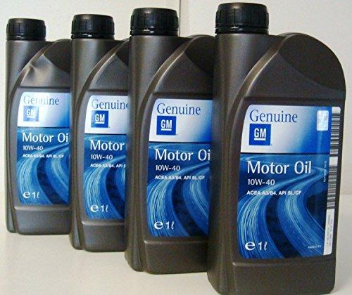 general-motor-oil-10w40-olio-motore-semisintetico-per-opel-4-barattoli-da-1-litro-4-litri