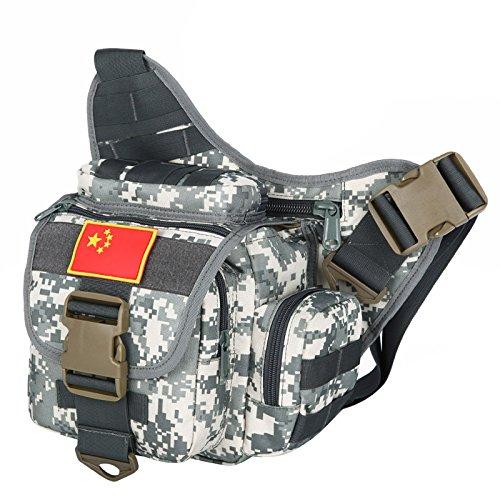 Zll/Armee Fan Sport Super Sattel Paket diagonal Taschen leicht und praktisch platzsparend Pakete acu