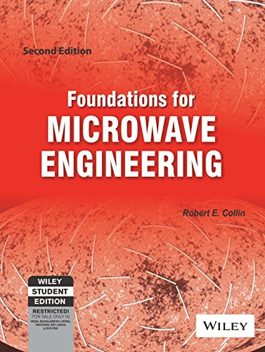 FOUNDATIONS FOR MICROWAVE ENGINEERING 2ND EDITION