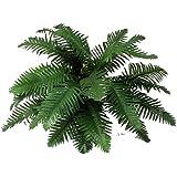 FELCE Artificiale Verde 28 foglie Ø75 cm