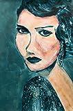 Original - Unikat - Acrylbild - Judith II (40 x 60 cm)