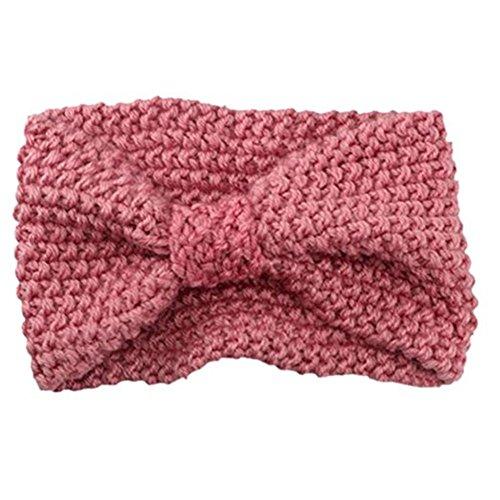nband Häkelarbeit Schleife Design Winter Kopfband Haarband (Stirnband Mädchen)