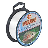 WFT obiettivo Pesce Forelle 500m Clear–Lenza per la pesca alla trota, Monofilo per trote, Trota corda per la pesca, filo