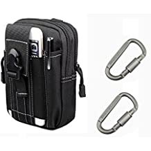 YCNK Outdoor multiuso tattico Pouch EDC Utility Gadget cintura marsupio nero - Oversize Gear Bag