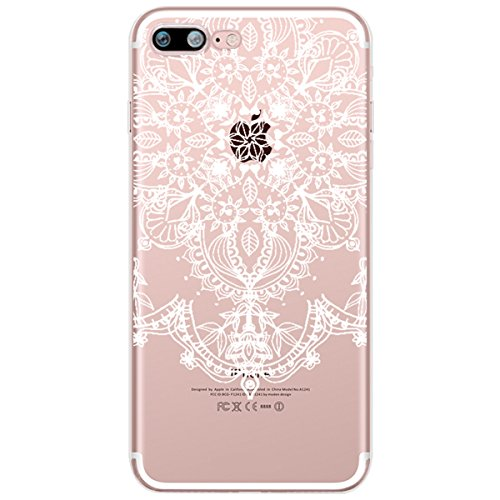iPhone 5 Custodia Trasparente, iPhone 5S Cover Silicone