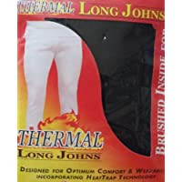 New Men's Heat Trap Technology Thermal Long Johns/ Pants 3-Colours (CHARCOAL) MEDIUM