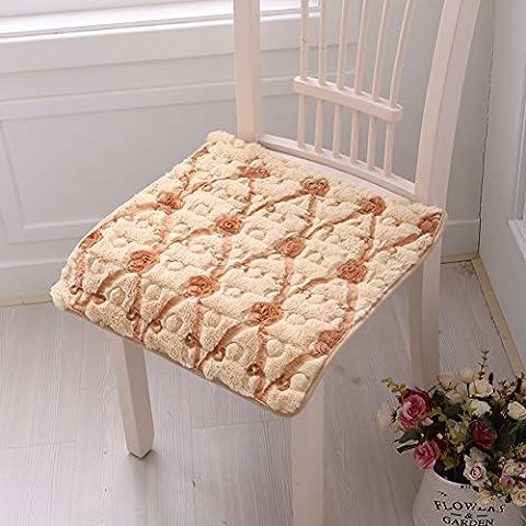 Felpa cuatro temporadas gastronómicas amortiguador de la silla/ silla de cojín de la resbalón/ asiento de coche-H 50x50cm(20x20inch)