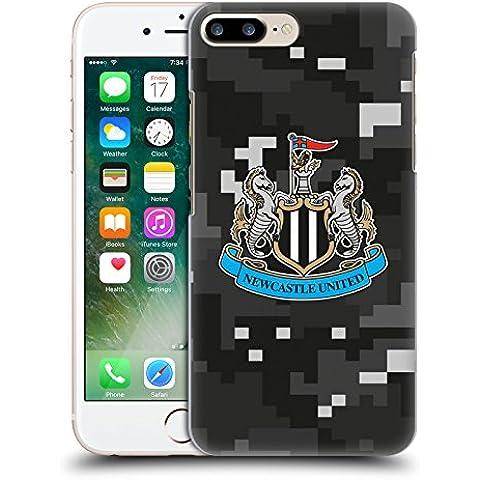 Ufficiale Newcastle United FC NUFC Home Colori Camouflage Digitale Cover Retro Rigida per Apple iPhone 7 Plus