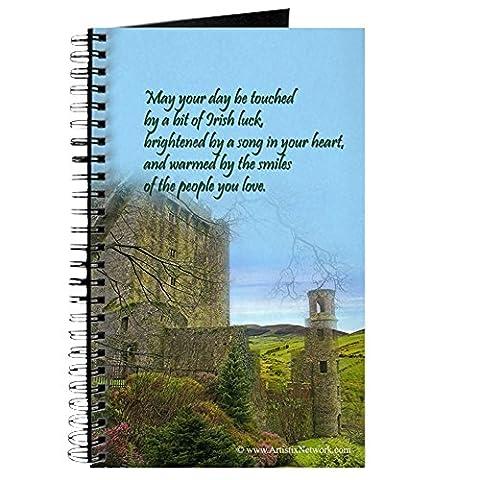 CafePress–Irische Segen–Spiralbindung Journal Notizbuch, persönliches Tagebuch, liniert