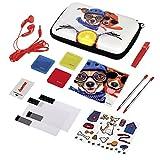 Hama Zubehör-Set für Nintendo 3DS XL, 13-teilig, Dog Squad (inkl. Tasche, Schutzfolien, Kopfhörer, Stifte u.v.m.)