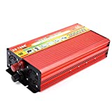 #7: Zorbes XUYUAN 3000W Solar Car Power Inverter DC 12V to AC 220V Modified Sine Wave Vehicle Mounted Charger