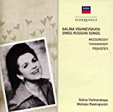 Galina Vishnevskaya Sings Russ [Import allemand]