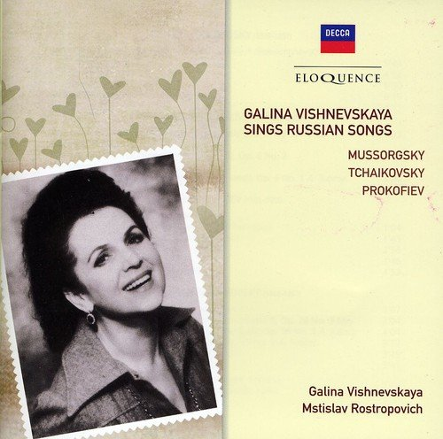Galina Vishnevskaya Sings Russ [Import allemand]
