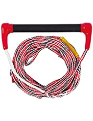 Jobe Transfer - Cuerda para esquí acuático rojo rosso