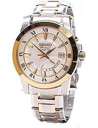 Seiko De los hombres Watch Premier Kinetic Reloj SRN040P1